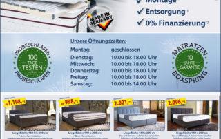 Sitec Schlafsysteme - Angebote im Januar