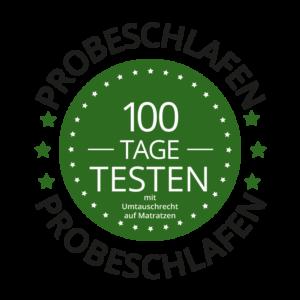 100 Tage Probeschlafen und Umtauschrecht bei Sitec Schlafsysteme Büren